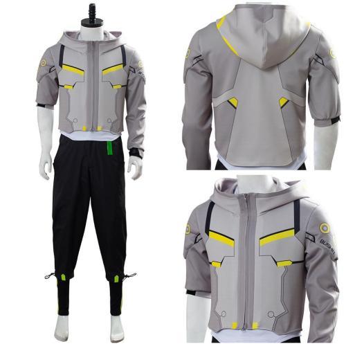 Overwatch 2 Shimada Genji Uniform Cosplay Costume