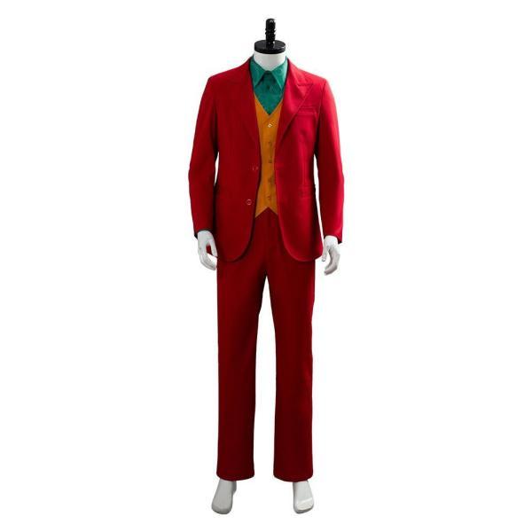 Joker Origin Romeo 2019 Film DC Movie Joaquin Phoenix Arthur Fleck Cosplay Costume Outfit Suit Uniform
