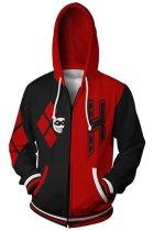 DC Suicide Squad Hoodie Harley Quinn 3D Sweatshirt Unisex