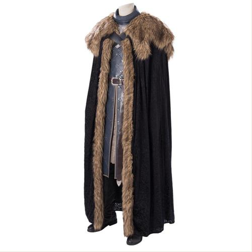 Game Of Thrones Jon Snow Full Set Cosplay Costume
