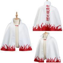 NARUTO Kids Cloak Coat Uzumaki Naruto Halloween Carnival Suit Cosplay Costume