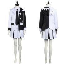 Danganronpa Shirt Skirt Uniform Outfit Monokuma Halloween Carnival Suit Cosplay Costume
