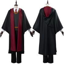 Harry Potter Halloween Carnival Costume School Uniform Gryffindor Robe Cloak Outfit Cosplay Costume