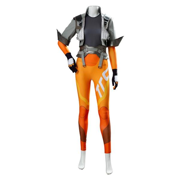 OW2 Overwatch Tracer Lena Oxton Cosplay Costume