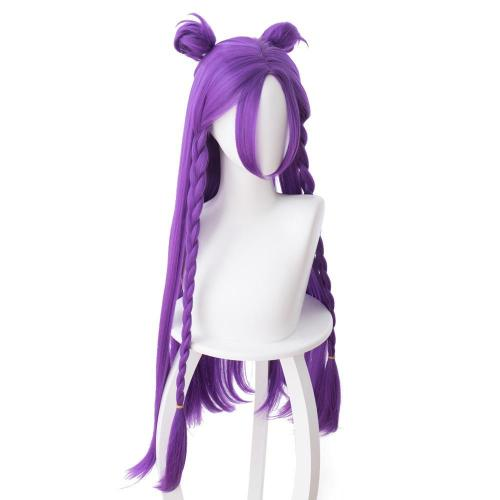 League of Legends Daughter of the Void Kaisa K/DA Skin Cosplay Wig