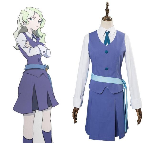 Little Witch Academia Diana Cavendish Cosplay Uniform Costume