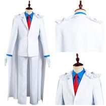 Detective Conan/Case Closed Shirt Pants Outfit Kaito Kuroba Kid the Phantom Thief Halloween Carnival Suit Cosplay Costume
