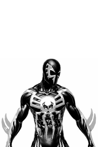 Spider-Man: Into the Spider-Verse Spider Man 2099 Black Suit Cosplay Costume