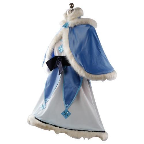 Overwatch Magic Girl Mei Cosplay Costume