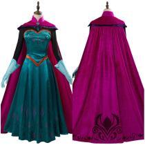 Movie Frozen Halloween Carnival Costume Elsa Queen Costume Women Dress Outfit Cosplay Costume