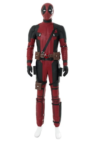 Deadpool 2 Deadpool Suit Oufit Halloween costume for males females