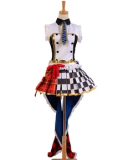 LoveLive! Rin Hoshizora Cafe Maid Uniform Cosplay Costume