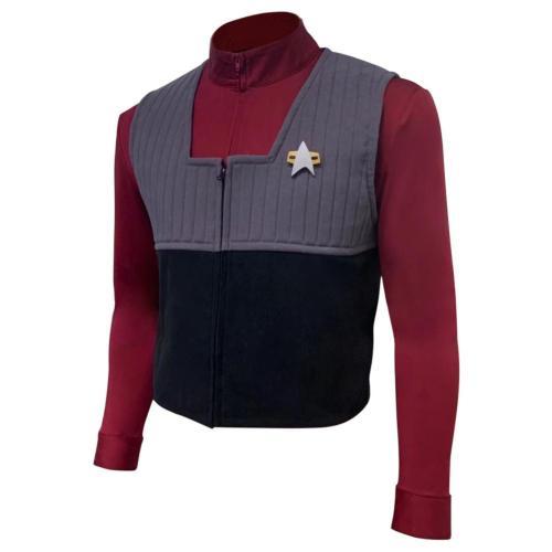 Star Trek Generations Jacket Set Vest Cosplay Costume