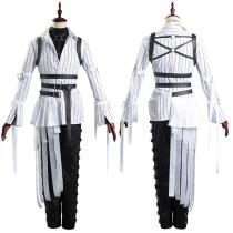 Twisted-Wonderland Uniform Outfit Azul/Floyd/Jade Halloween Carnival Suit Cosplay Costume
