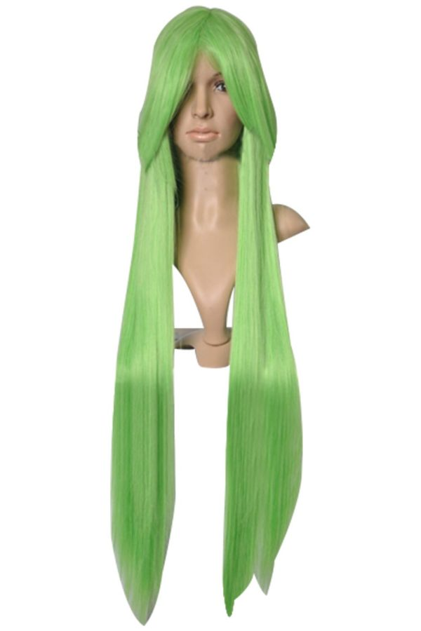 Code Geass C.C. Long Green Cosplay Wig
