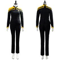 Star Trek Picard-Raffi Musiker Blouse Trousers Set Uniform Cosplay Costume