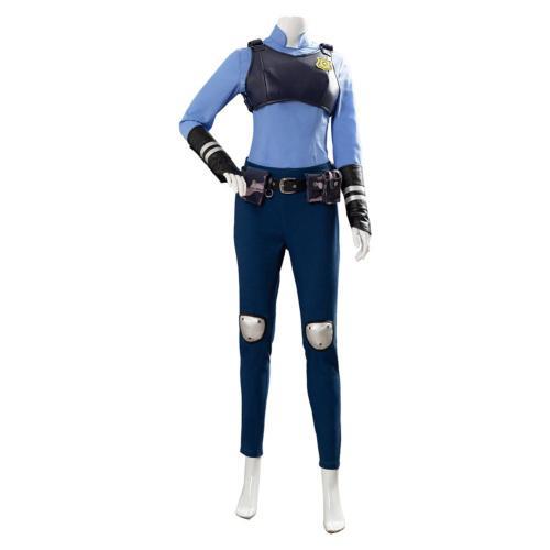 Judith Laverne Hopps Zootopia/Zootropolis Uniform Cosplay Costume