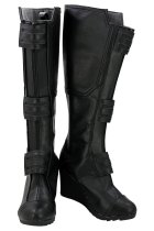 Captain America 3 Civil War Black Widow Cosplay Shoes Boots