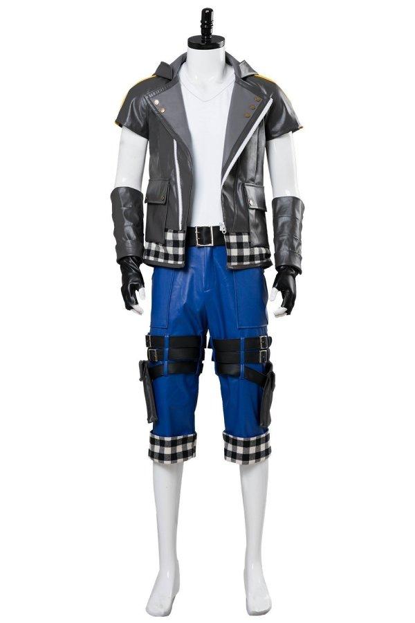 Kingdom Hearts III Riku Outfit Cosplay Costume