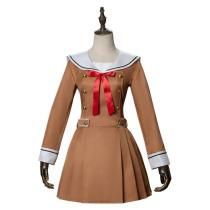 Bang Dream Jk Uniform Dress Long Sleeve Sailor Cosplay Costume