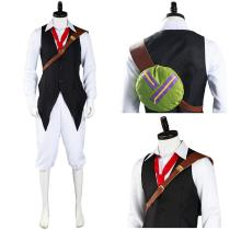 The Seven Deadly Sins Shirt Pants Outfit Meliodas Halloween Carnival Suit Cosplay Costume