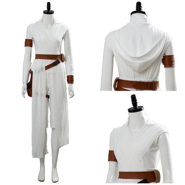 Star Wars 9 The Rise of Skywalker Rey Cosplay Costume