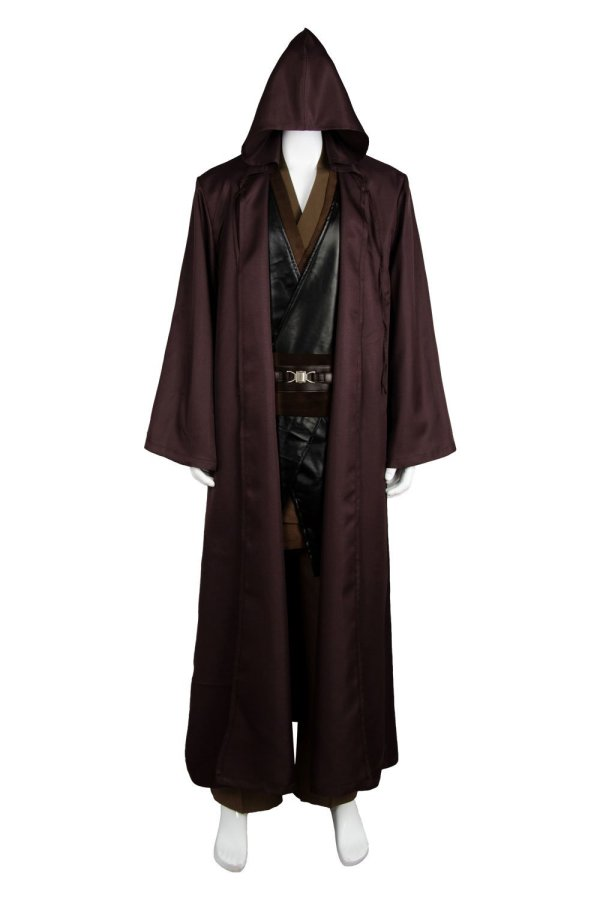 Star Wars Anakin Skywalker Jedi Costume Outfit Robe