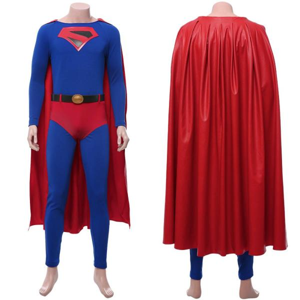 Crisis on Infinite Earths Clark Kent Outfit Cosplay Costume