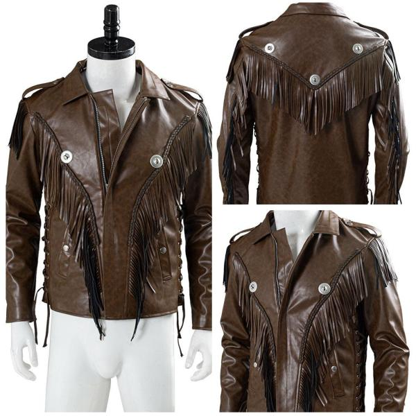 Tiger King Joe Exotic Jacket Cosplay Costume Halloween Carnival Costume