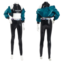 League of Legends LOL K/DA Group Coat Pants Outfit KDA Kaisa Halloween Carnival Suit Cosplay Costume