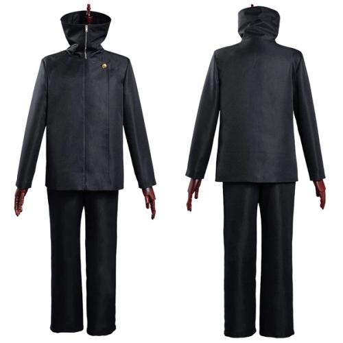 Jujutsu Kaisen School Uniform Outfit Toge Inumaki Halloween Carnival Suit Cosplay Costume
