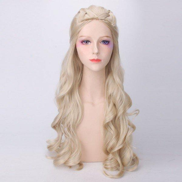 Game of Thrones Season 7 Daenerys Targaryen Cosplay Wig