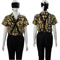 11 Eleven Battle Suit Stranger Things 3 Cosplay Costume Outfit Dress Suit Uniform