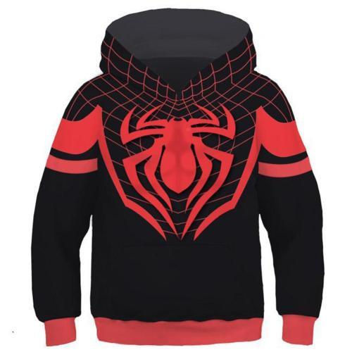 Ultimate Spider-Man Halloween Cosplay Costume Hoodie Jacket For Kids