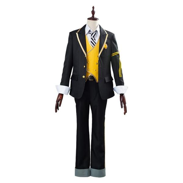 Twisted Wonderland Halloween Carnival Costume Ruggie Bucchi Uniform Outfit Cosplay Costume for Adult