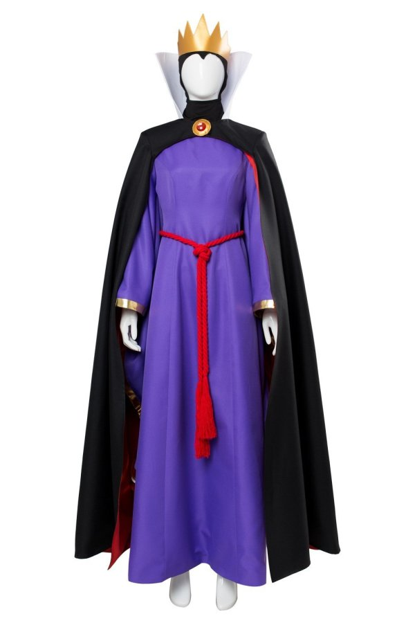 1937 Movie The Snow White Evil Queen Cosplay Costume