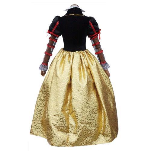 Alice In Wonderland Red Queen Halloween Cosplay Costume