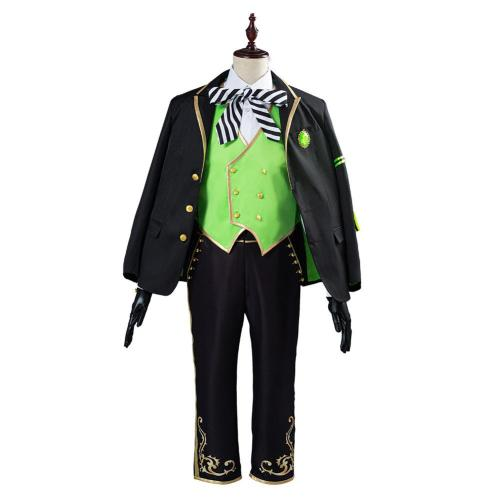Twisted Wonderland Halloween Carnival Costume Lilia Vanrouge Cosplay Costume Uniform Outfit for Adult
