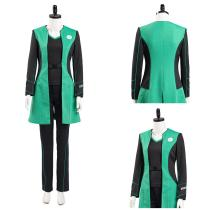 The Orville Into the Fold Halloween Carnival Suit Dr. Claire Finn Medical Officer Women Uniform Outfit Cosplay Costume