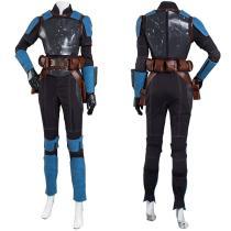 The Mandalorian S2 Jumpsuit Outfit Bo-Katan Kryze Halloween Carnival Suit Cosplay Costume