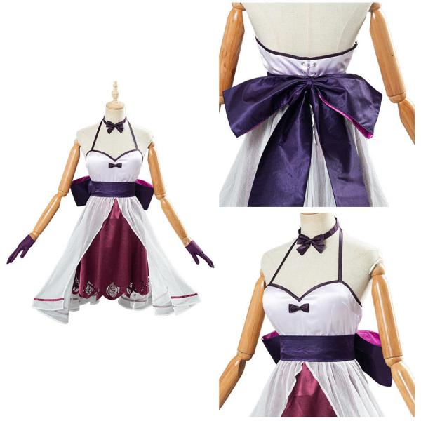 Fate/Grand Order FGO Halloween Carnival Costume Mash Kyrielight Dress Cosplay Costume