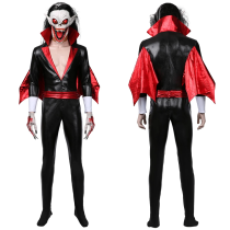 Morbius the Living Vampire Jumpsuit Outffit Michael Morbius Halloween Carnival Suit Cosplay Costume