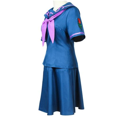 JoJo's Bizarre Adventure Uniform Skirt Outfit Yamagishi Yukako Halloween Carnival Suit Cosplay Costume