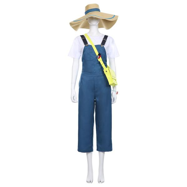 Heroes: Rising My Hero Academia T-shirt Katsuma Dungarees Jumpsuits Cosplay Costume