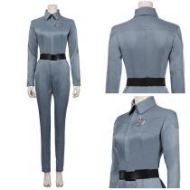 Star Trek: Picard Season 1-Soji Women Jumpsuit Outfit Halloween Carnival Suit Asha Cosplay Costume
