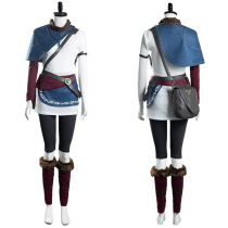 Game Bridge of Spirits Halloween Carnival Suit Kena Women T-shirt Pants Outfits Cosplay Costume