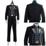 Frozen Kristoff Suit Uniform Halloween Outfit Cosplay Costume