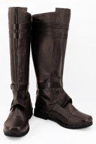 Star Wars Anakin Skywalker Brown Boots Cosplay Shoes