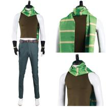 JoJo's Bizarre Adventure Part 2: Battle Tendency Pants Vest Outfit Joseph Joestar Halloween Carnival Suit Cosplay Costume
