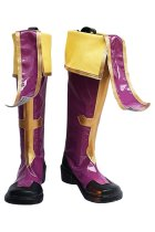 BLAZBLUE Kisaragi Jin Cosplay Boots Shoes